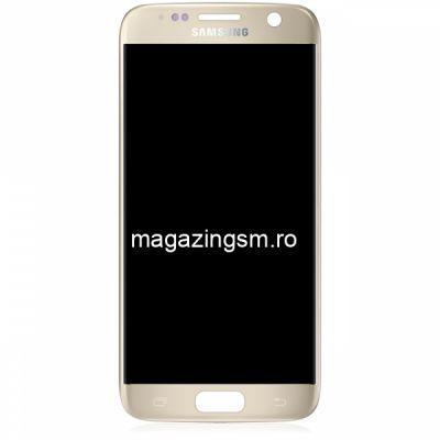 Display Cu Touchscreen Samsung Galaxy S7 G930F Original Gold