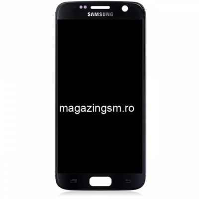 Display Cu Touchscreen Samsung Galaxy S7 G930F Original Negru