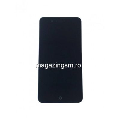 Display Cu Touchscreen Si Rama Allview P6 Pro Original Negru
