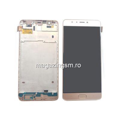 Display Cu Touchscreen Si Rama Allview P9 Energy S Original Auriu