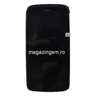 Display Cu Touchscreen Si Rama HTC Desire 500 Negru