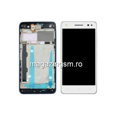 Display Cu Touchscreen Si Rama Lenovo Vibe S1 Lite Alb