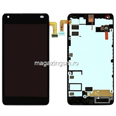 Display Cu Touchscreen Si Rama Microsoft Lumia 550 Negru