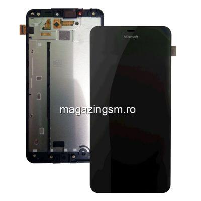 Ecran Cu Touchscreen Si Rama Microsoft Lumia 640 XL Negru