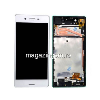 Display Cu Touchscreen Si Rama Sony Xperia Z2 Alb