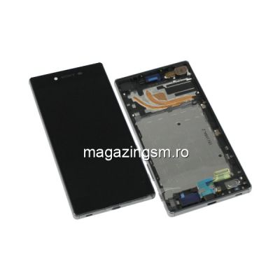Display Cu Touchscreen Si Rama Sony Xperia Z5 Negru