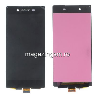 Display Cu Touchscreen Sony Xperia Z3 Plus Xperia Z4 E6553 Negru
