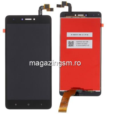 Display Cu Touchscreen Xiaomi Redmi Note 4X Negru