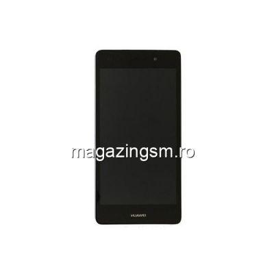 Display Huawei P8 Lite Original Cu Rama Negru Service Pack
