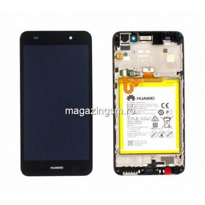 Display Huawei Y6 II 2017 Original Cu Rama Negru Service Pack