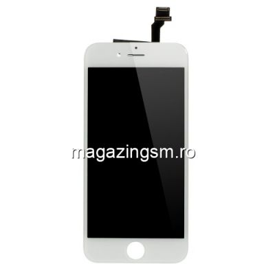 Display cu TouchScreen si Geam iPhone 6 OEM Alb - Promotie