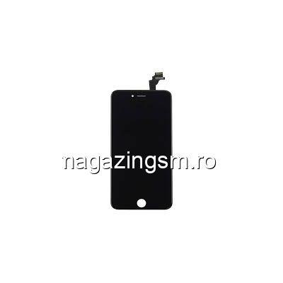 Display iPhone 6 Plus cu TouchScreen si Geam Negru - Promotie