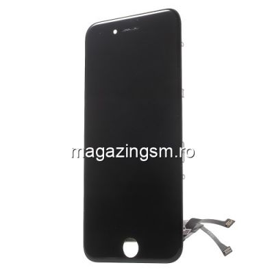 Display iPhone 7 Cu Touchscreen Si Rama Negru