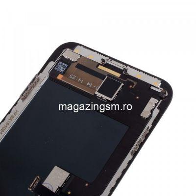 Display iPhone X Complet Cu Rama Negru