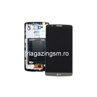 Display LG G3 D850 D851 D855 Cu Rama Argintiu
