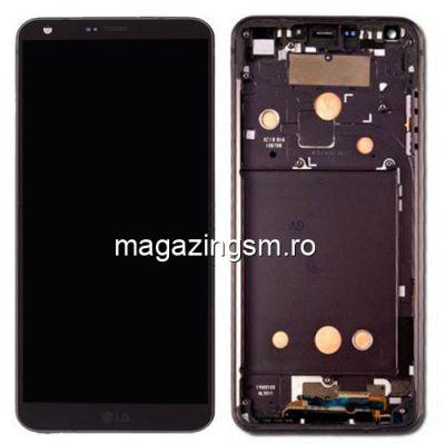 Display LG G6 H870 Cu Rama Negru