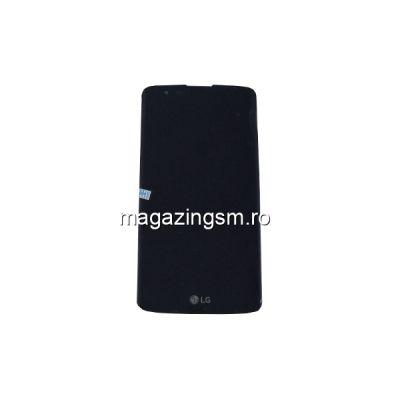 Display LG K8 Cu Touchscreen Si Rama Negru