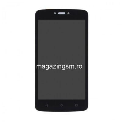 Display Motorola Moto C cu RAMA Negru
