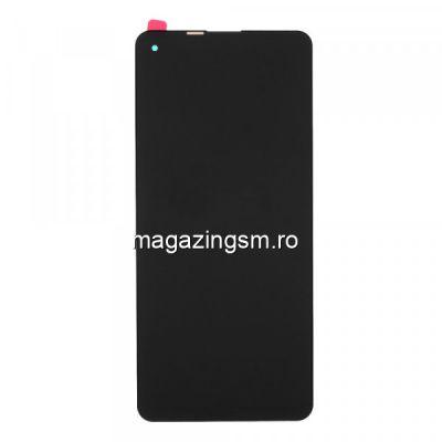 Display Samsung A21s (A217) Cu Touchscreen Original si Rama Negru