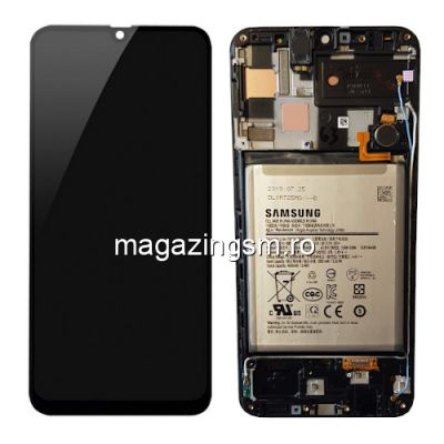 Display Samsung Galaxy A50 A505 Cu Rama si Baterie Original