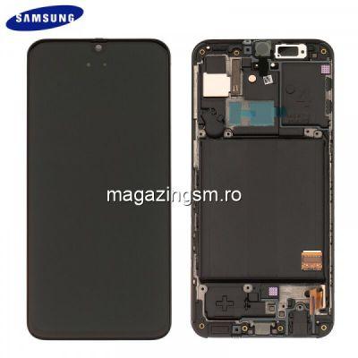 Display Samsung Galaxy A40 Original Negru