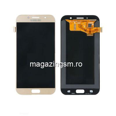 Display Samsung Galaxy A7 A720 2017 Cu Touchscreen Auriu