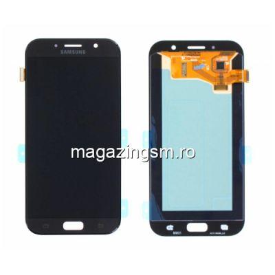 Display Samsung Galaxy A7 A720 2017 Cu Touchscreen Negru
