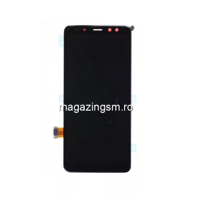 Display Samsung Galaxy A8 A530 2018 Original Negru