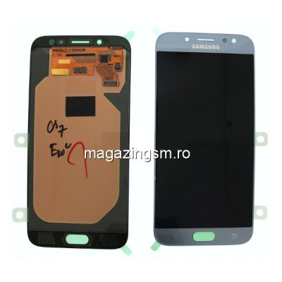 Display Samsung Galaxy J7 J730 2017 Original Argintiu