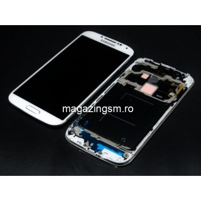 Display Samsung Galaxy S4 i9505 cu Touchscreen si Rama Alb
