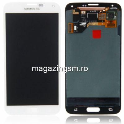 Display Samsung Galaxy S5 G900 Complet Alb