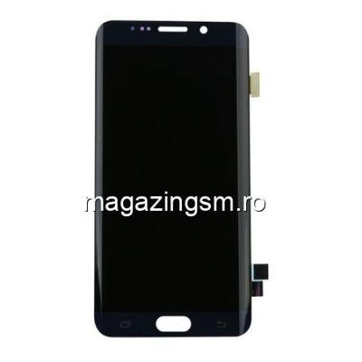 Display Samsung Galaxy S6 Edge G925 Cu Touchscreen Si Rama Original Negru