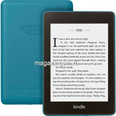 eBook reader Kindle Paperwhite 2018, 300 ppi, rezistent la apa, 32GB, albastru