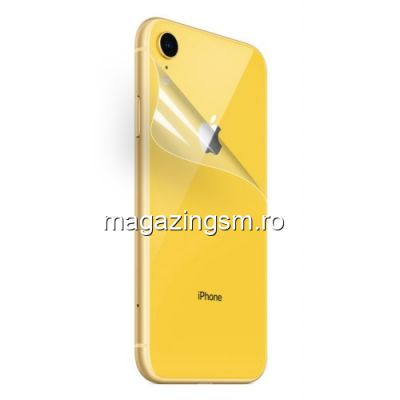 Folie Protectie Capac Baterie Spate iPhone XR