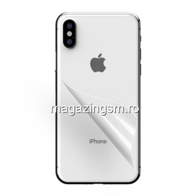 Folie Protectie Capac Baterie Spate iPhone XS Max