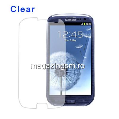 Folie Protectie Display Samsung I9300 I9305 Galaxy S3 Clear Screen Guard