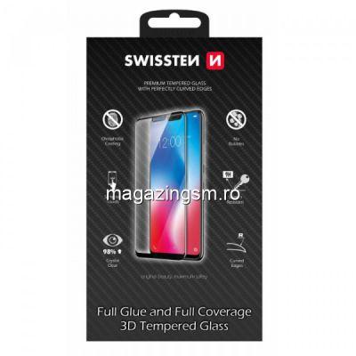 Folie Sticla iPhone 11 Protectie Display Acoperire Completa Neagra