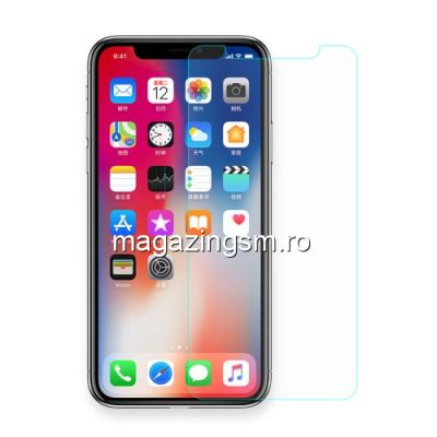 Folie Sticla iPhone X / XS / 11 Pro Protectie Display Transparenta