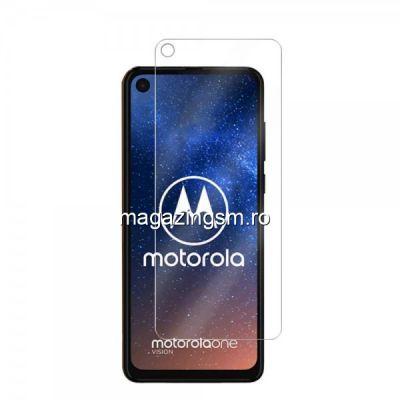 Folie Sticla Motorola Moto One Vision Protectie Display Transparenta