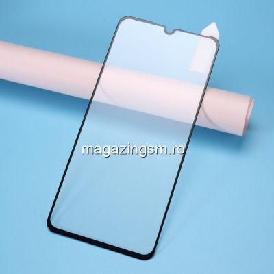 Folie Sticla Motorola One Vision Protectie Display Acoperire Completa Neagra