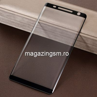 Folie Sticla Nokia 8 Sirocco Protectie Display Acoperire Completa Neagra