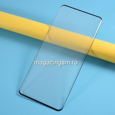 Folie Sticla OnePlus 8 Pro Protectie Ecran Acoperire Complete Neagra