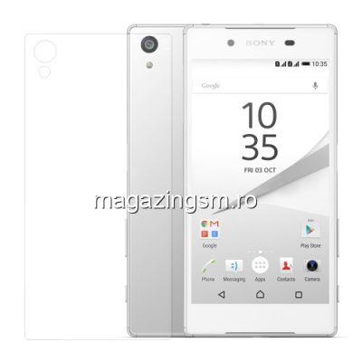 Folie Sticla Protectie Capac Baterie Spate Sony Xperia Z5