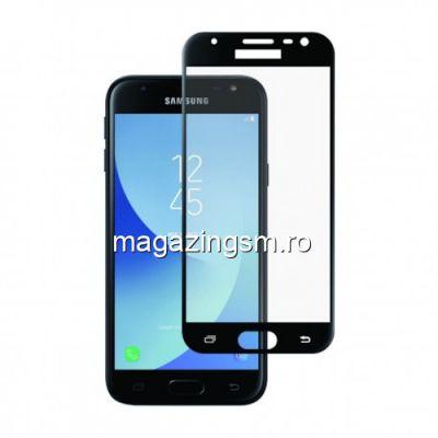 Folie Sticla Samsung Galaxy J3 2017 Protectie Display Acoperire Completa Neagra
