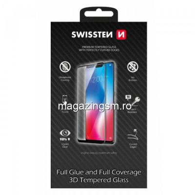Folie Sticla Samsung Galaxy S20 Protectie Display Acoperire Completa Neagra