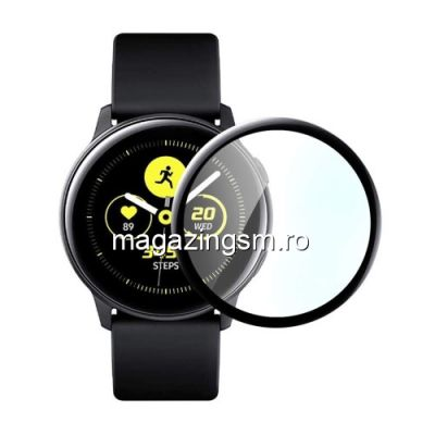 Folie Sticla Samsung Galaxy Watch Active2 44mm Protectie Display Acoperire Completa