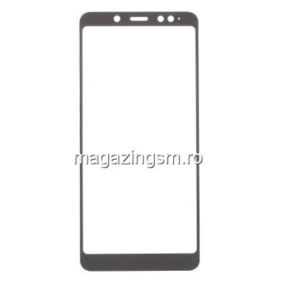 Folie Sticla Xiaomi Redmi Note 5 Protectie Display Acoperire Completa Neagra