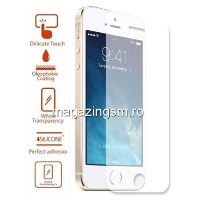 Geam De Protectie iPhone 5 5s 5c Tempered Ultra Thin