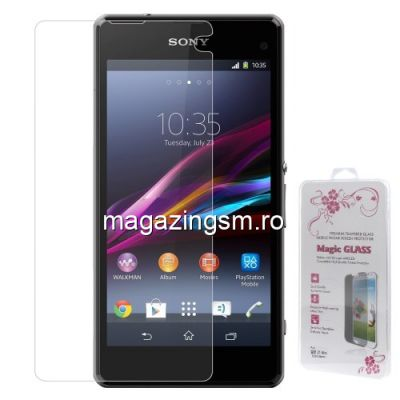 Geam De Protectie Sony Xperia Z1 Compact D5503 Tempered