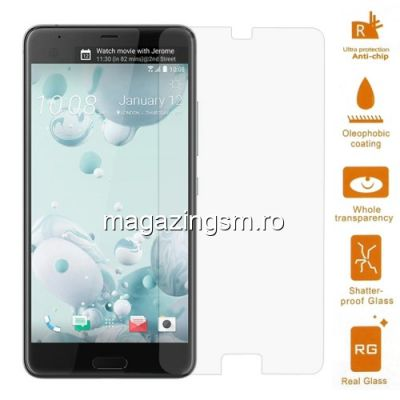 Geam Folie Sticla Protectie Display HTC U Ultra Tempered